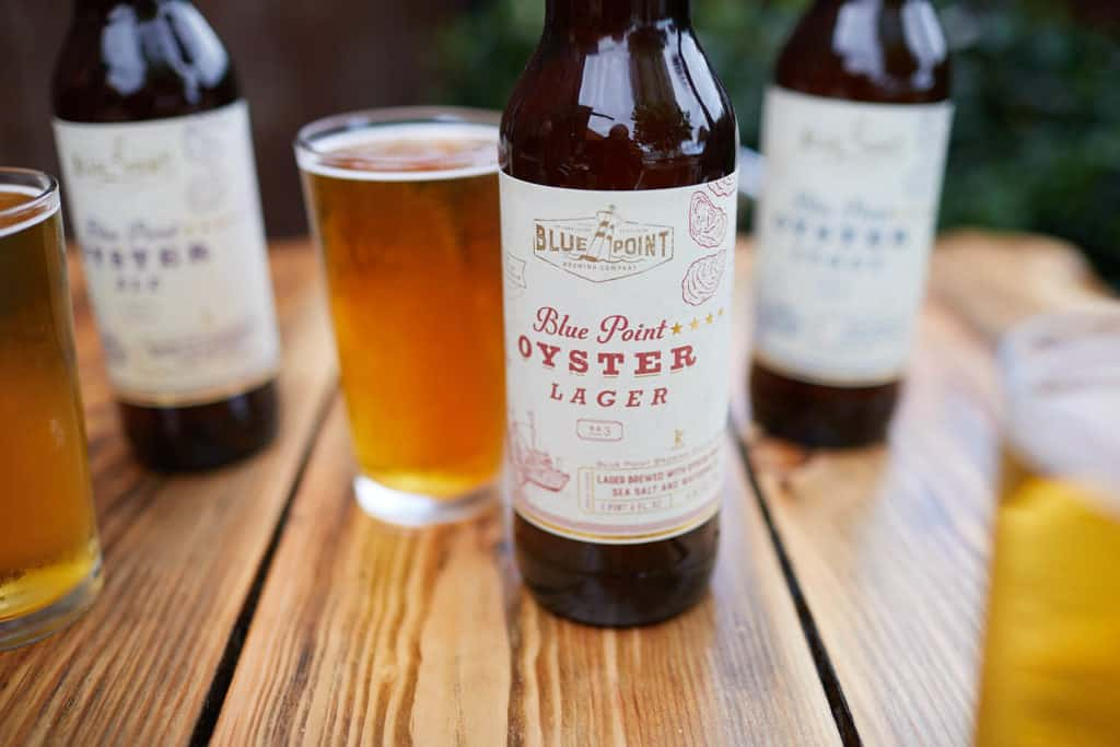 Oyster Series Blue Point Beer