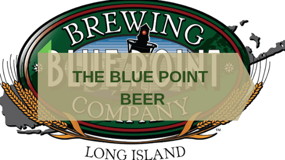 BLUE POINT BEER